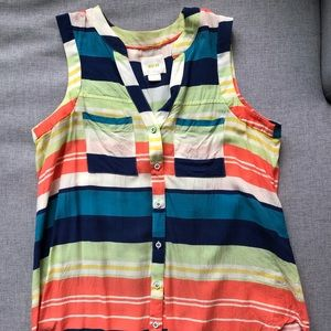 Anthropologie Maeve striped blouse